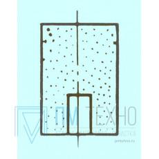 Головка абразивная  6х10x2х 6 ГЦ 39А 16 СТ без хвостовика