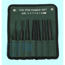 Набор бородков цилиндрических из  7-ми шт. от 2 до 8мм, тип 2 в сумке