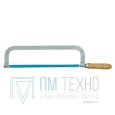 Рамка ножовочная с полотном 300мм, тип 2, с деревянной ручкой