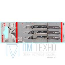 Пилка для электролобзиков По дереву T111C HCS (5шт. уп.)