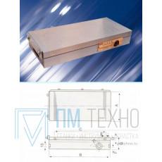 Плита магнитная плоская Х41  150х300 сила притяжения 90 N/см кв.