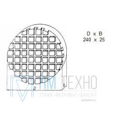 Плита Круглая d 240х 25 с Т-образными пазами 8мм (ДСПМ 1-04) (восстановленная)